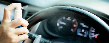 Средства дезинфекции автомобиля от коронавируса